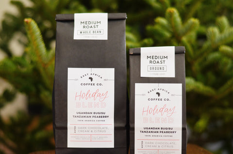 Holiday Blend, Medium Roast, One Pound