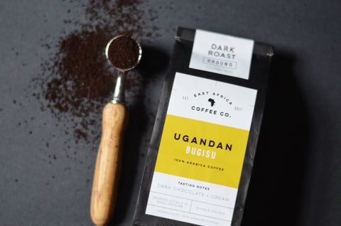 Ugandan Coffee, Dark Roast, Half Pound