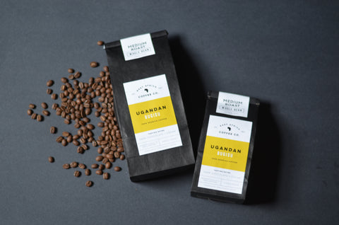 Ugandan Coffee, Medium Roast, One Pound