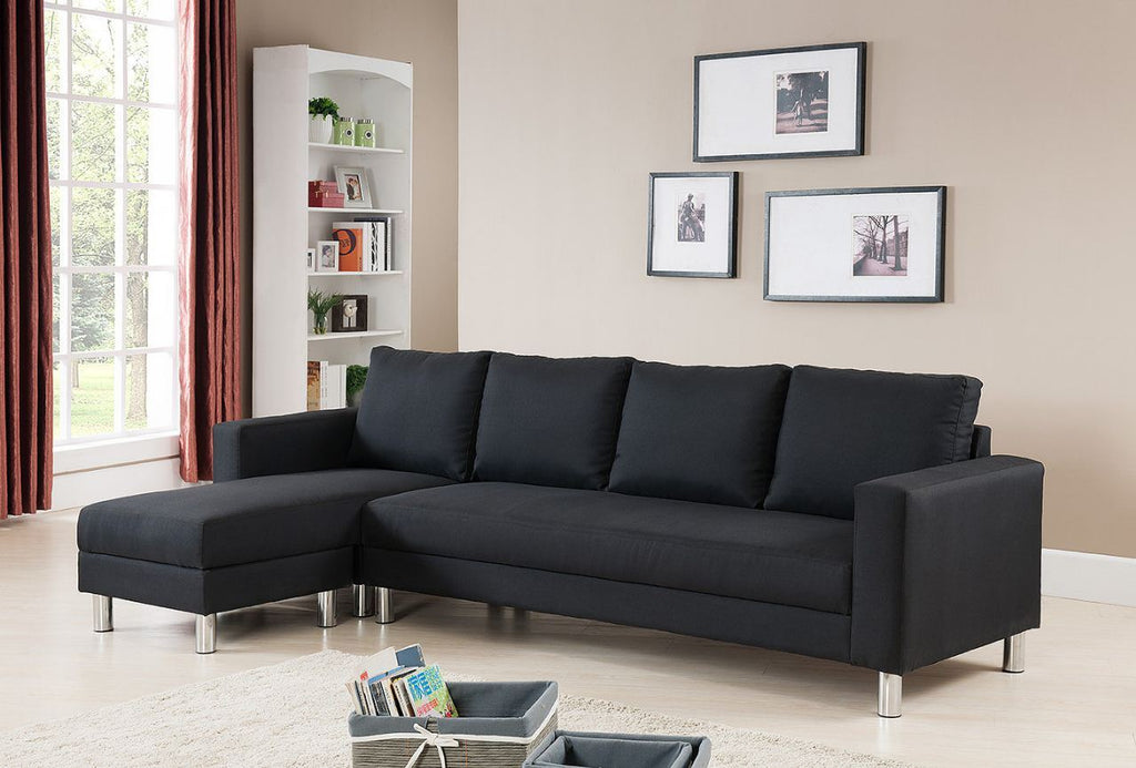d597f973e38394 SOFA 4 SEATS REVERSIBLE BLACK - NEW NEVER BEEN USED – Gripsou