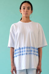 18'S COTTON  SHORT SLEEVE TEE - BLUE SHELL
