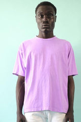 18'S COTTON SHORT SLEEVE TEE - NEON LAVENDER