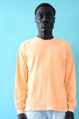 NEON PUMPKIN - 18'S COTTON JERSEY LONG SLEEVE TEE