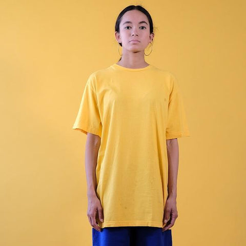 30'S SOFT COTTON SHORT SLEEVE TEE - GOLD FUSION