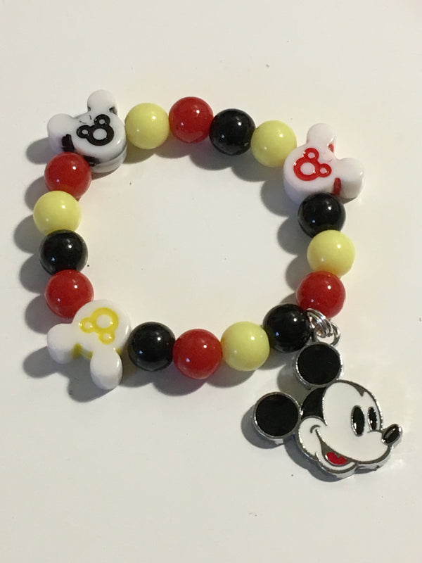 Gender Neutral Mickey Mouse Inspired Bracelet