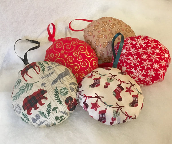 handmade christmas ornaments and room decor