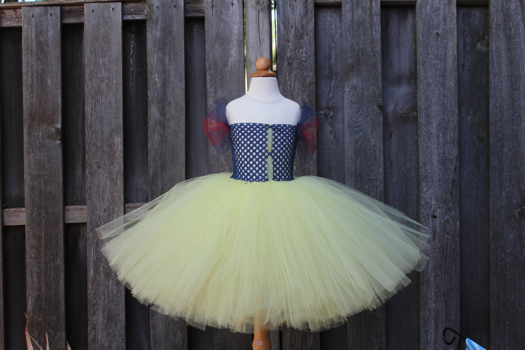 Snow White Tutu Dress Costume - JTF15062 - Fully lined top sizes 4T and up
