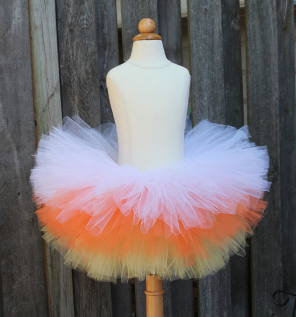 Candy Corn Tutu Costume