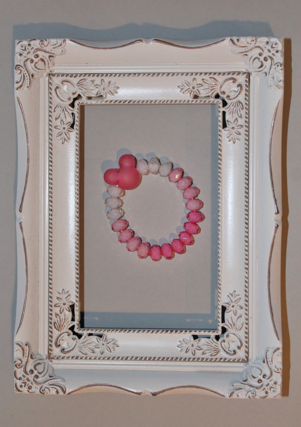 Pink Hombre Minnie Mouse Inspired Bracelet - JTJ15253