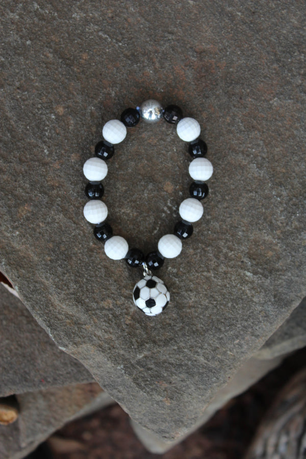 Gender Neutral Soccer Bracelet - JTJ15802