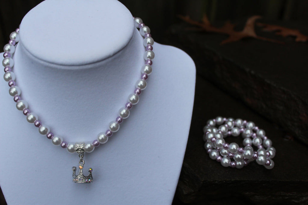 Sofia the First Inspired Necklace and Bracelet Set - JTJ15705