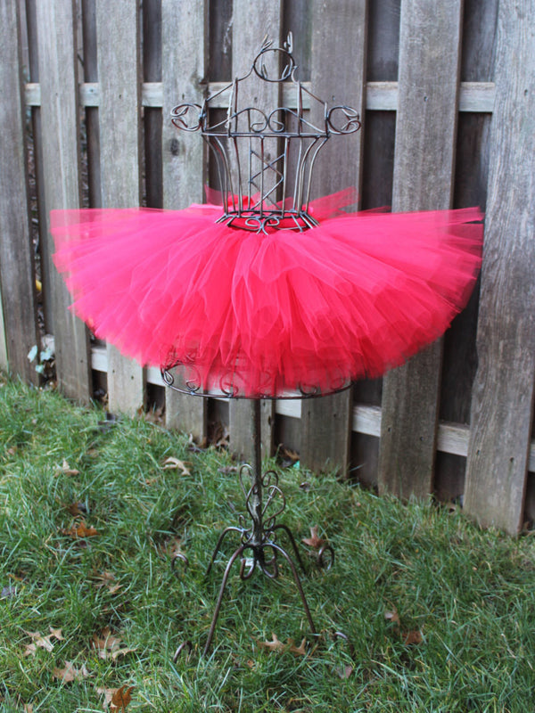 Extremely Full Red Tutu, Valentines Day Tutu, Valentines Tutu, Red Valentines Day Tutu