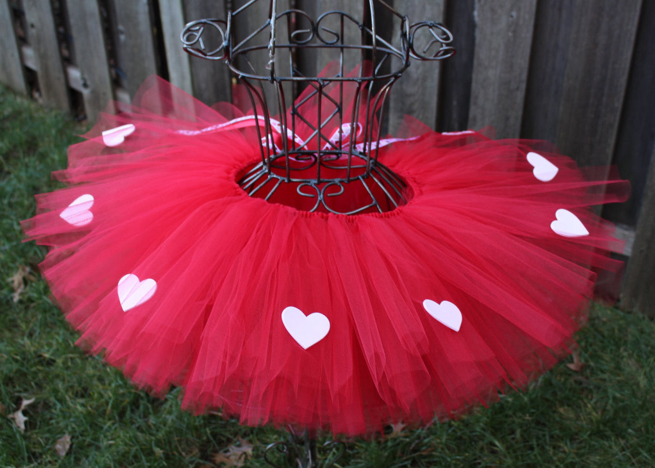 1542eacf8141b Simple Love Tutu, Red Valentine's Day Tutu, Valentine's Day Tutu,  Valetine's Tutu,