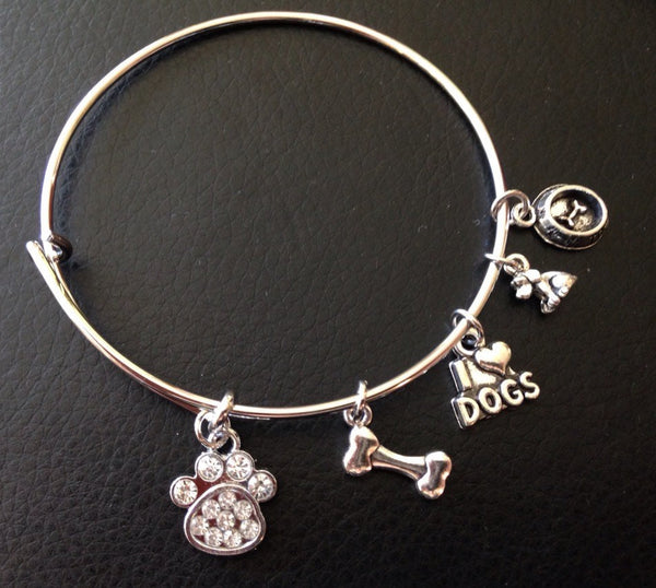 Dog Lover Bangle