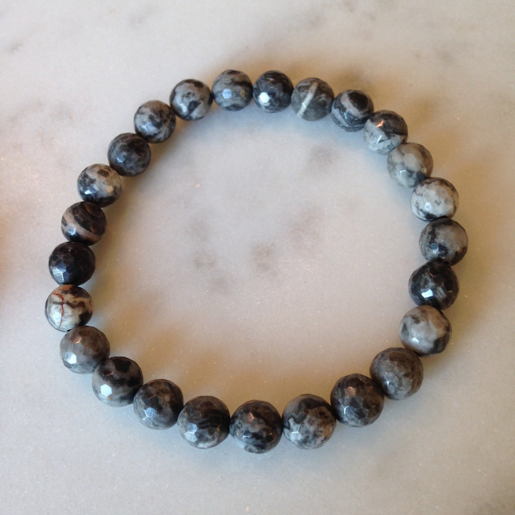 Faceted Marble Bracelet