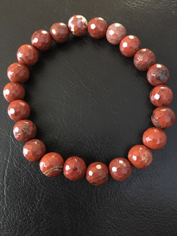 Genuine Red Jasper Bracelet