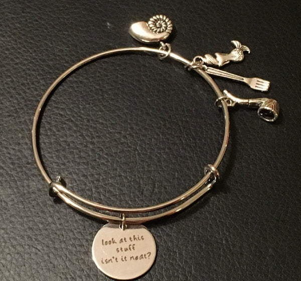 Little Mermaid Inspired Bracelet - Look at this stuff bangle