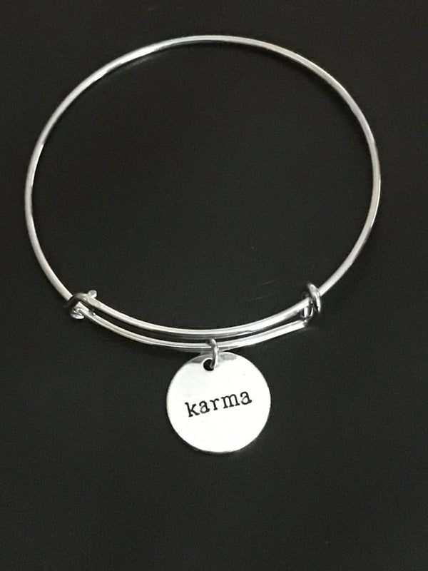 Simple Beauty Karma Bangle
