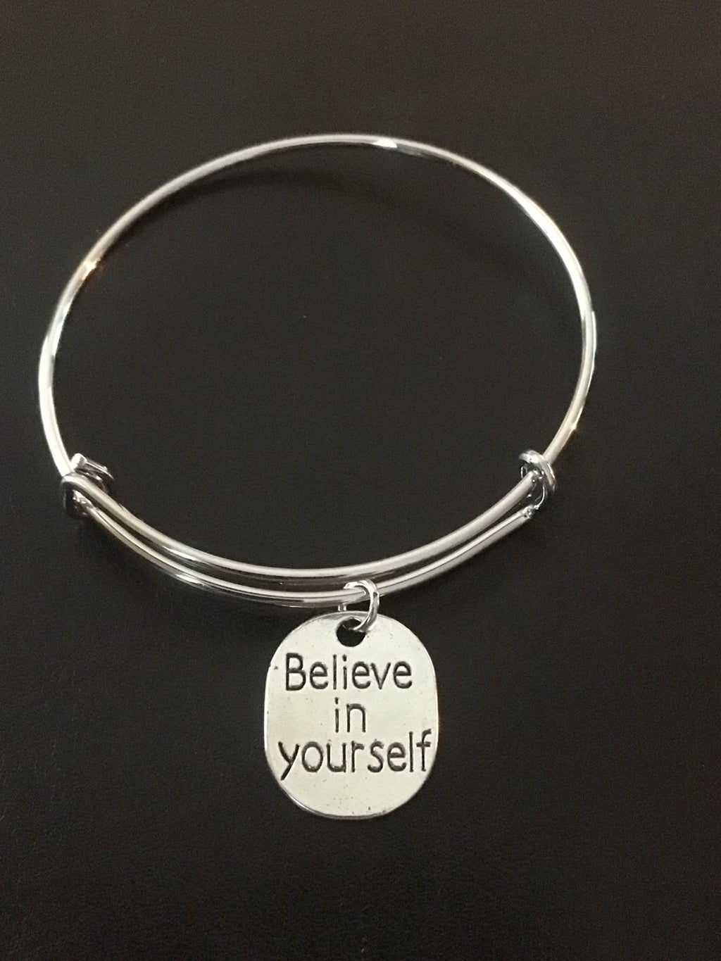 Simple Beauty Believe in Yourself Bangle