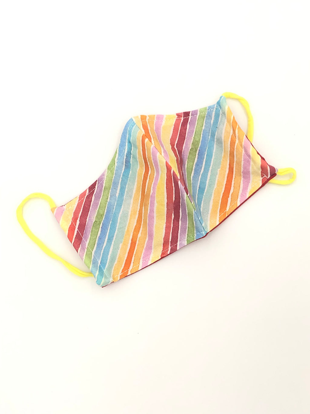 Ready to Ship - Rainbow reusable and reversible Children's face masks