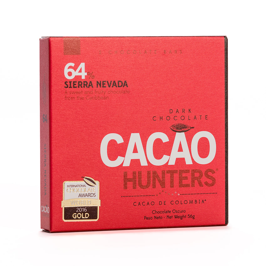 Cacao Hunters Colombian Chocolate - Sierra Nevada Dark 64%
