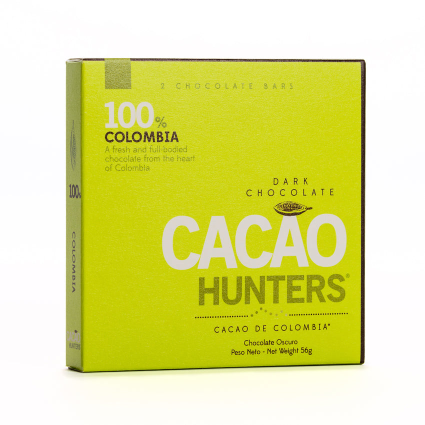 Cacao Hunters Colombian Chocolate - Colombia Dark 100%