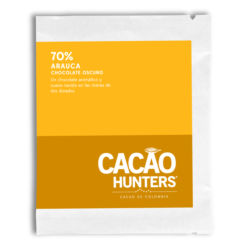 Cacao Hunters Colombian Chocolate - Arauca Dark 70%