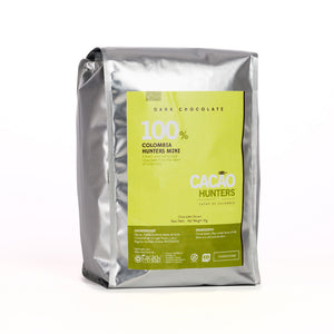 Cacao Hunters Colombian Chocolate - Colombia Pure 100%