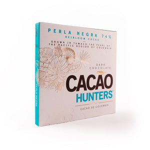 Cacao Hunters Colombian Chocolate - Perla Negra Heirloom Dark 74%