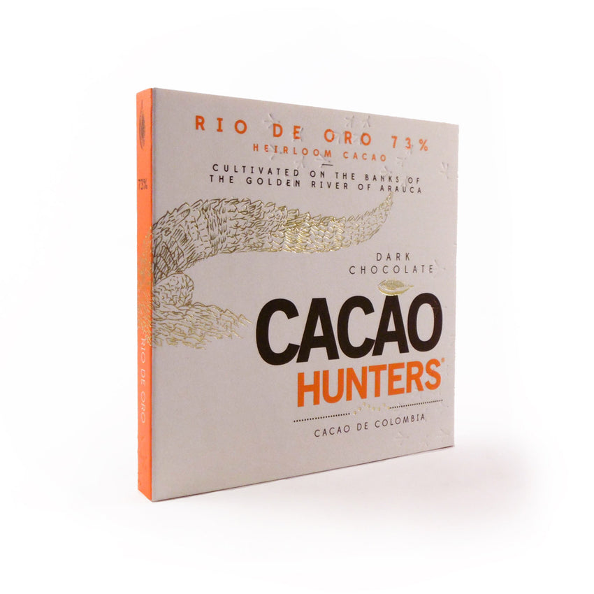 Cacao Hunters Colombian Chocolate - Rio de Oro Heirloom Dark 73%