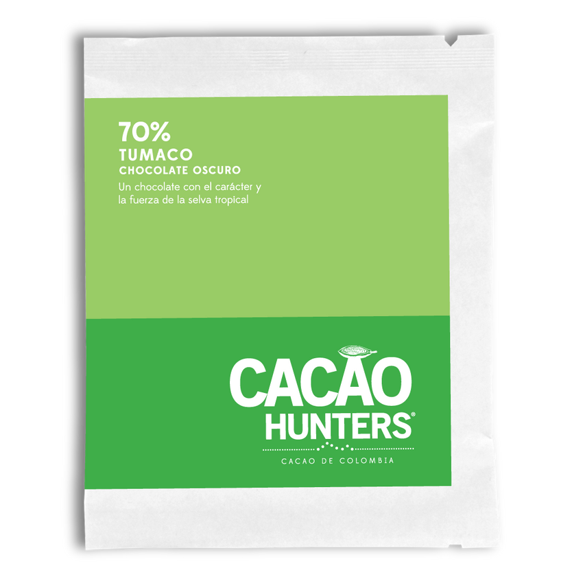Cacao Hunters Colombian Chocolate - Tumaco Dark 70%