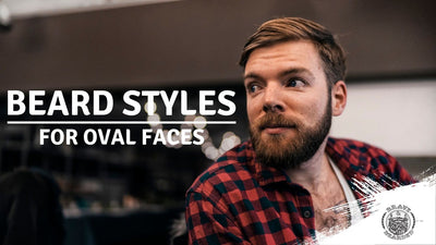 What Beard Style Suits Me: Oval Face