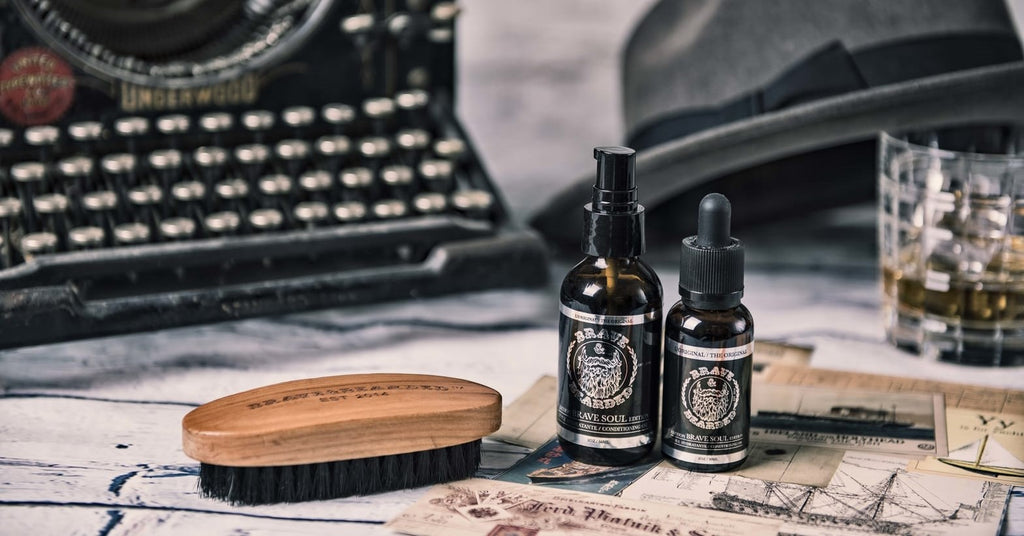 Beard oil for beard growth