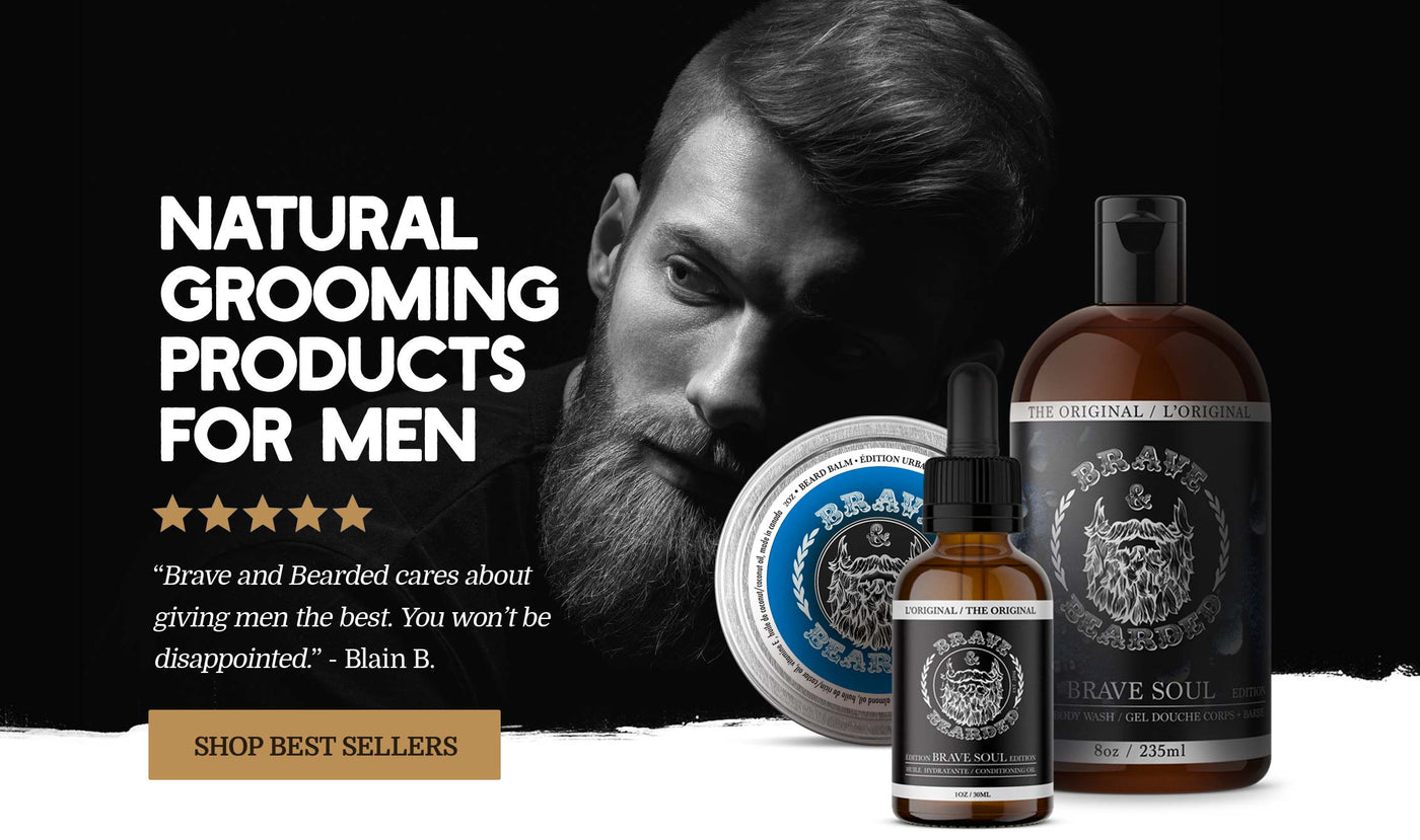 Natural Grooming Products for Men