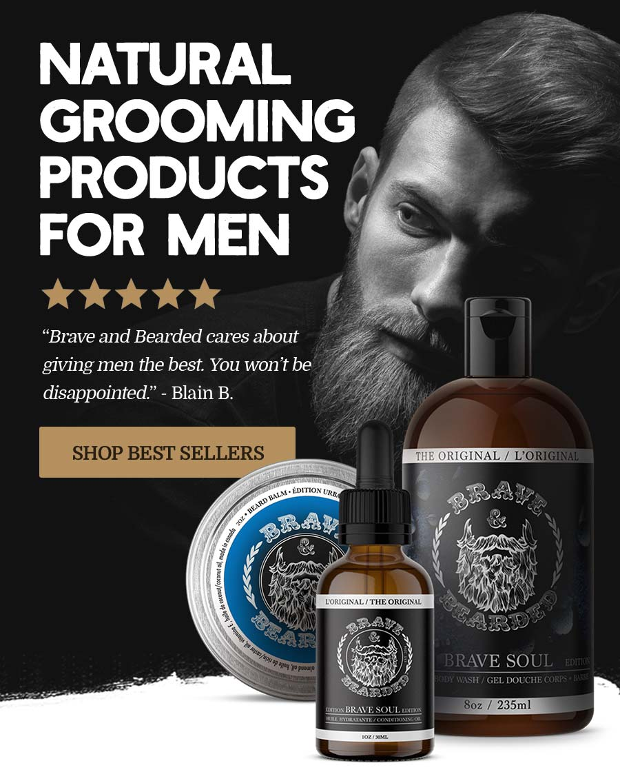 Natural Grooming Products Form Men