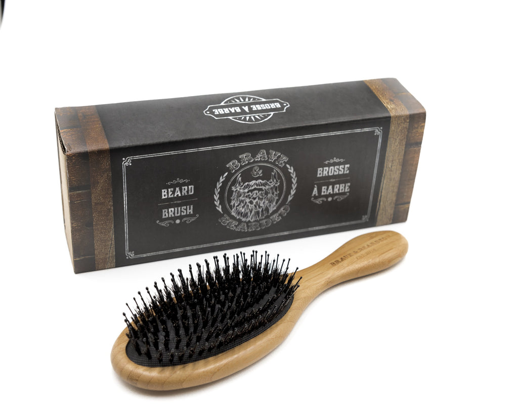 beard brush, big beard brush, bristle comb brush, wetbrush, long hair brush, bravenbearded brush