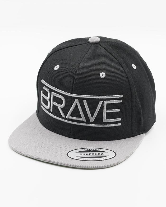 Bravenbearded cap, baseball hat, black hat, snapback
