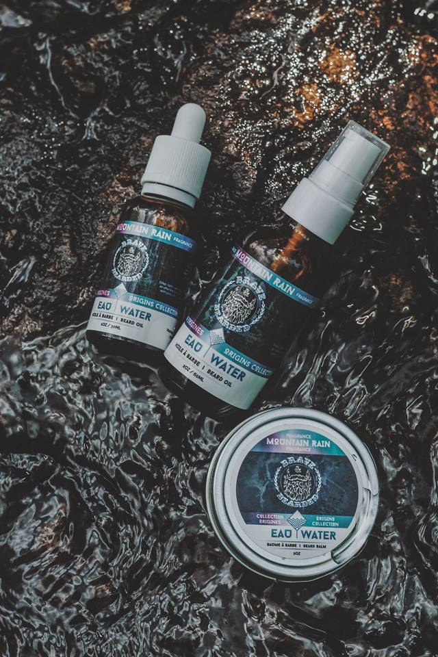 Brave & Bearded Mountain Rain Beard Balm and Beard oil 30ml and 60ml