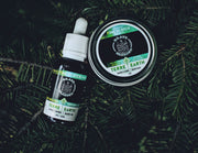 Brave & Bearded Pine Scotch Beard Oil 30ml and beard balm