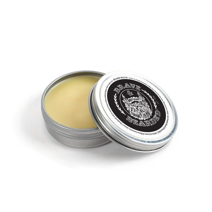 Brave Soul Bead Balm by Brave & Bearded Open Tin