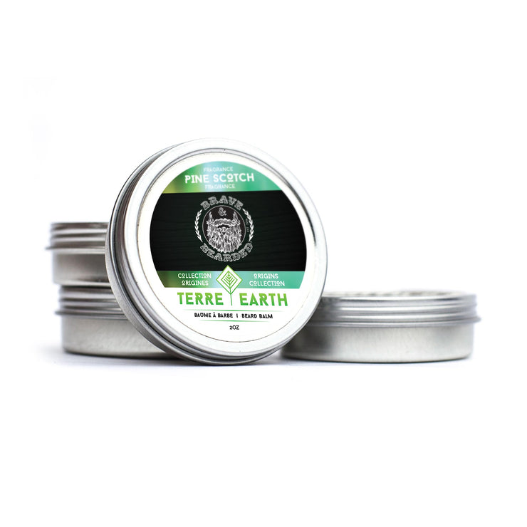 Brave & Bearded Pine Scotch Beard Balm