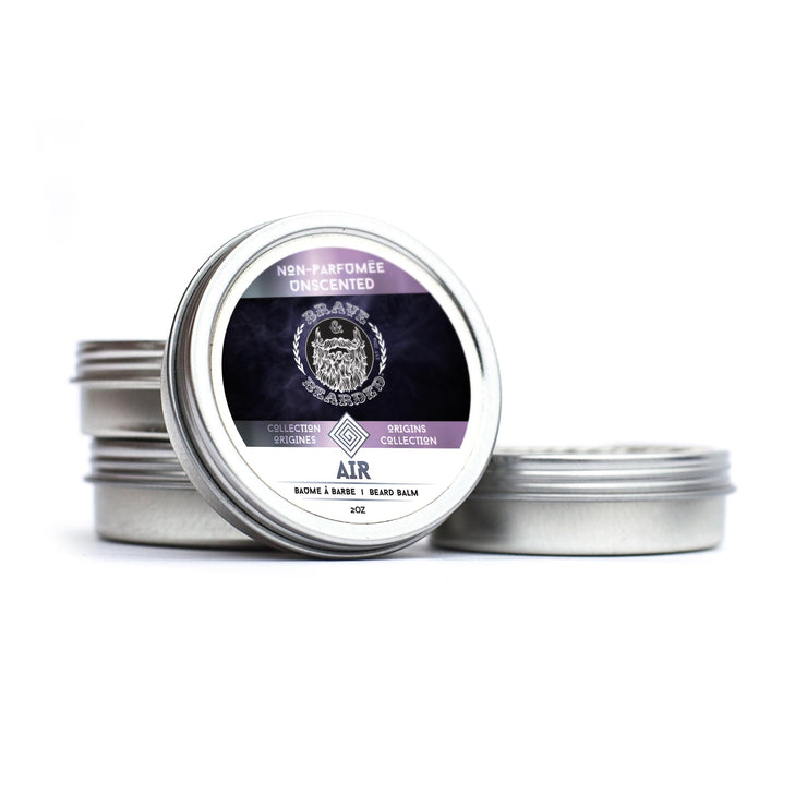 Brave & Bearded Unscented Beard Balm