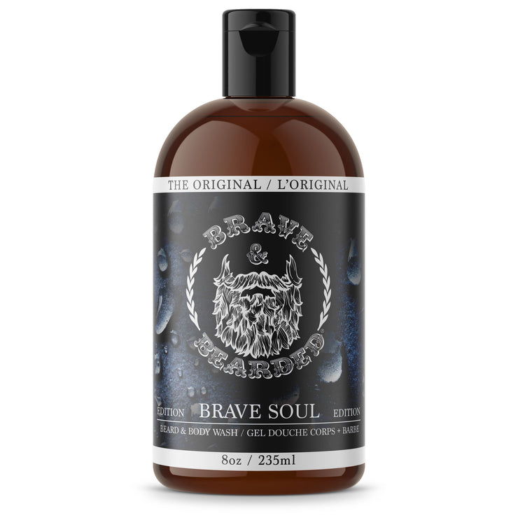 Beard Shampoo and Body Wash by Brave & Bearded - 235ml