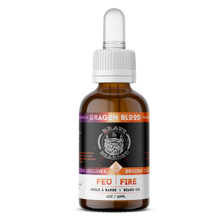 30 ml Dragon Blood Beard Oil by Brave & Bearded