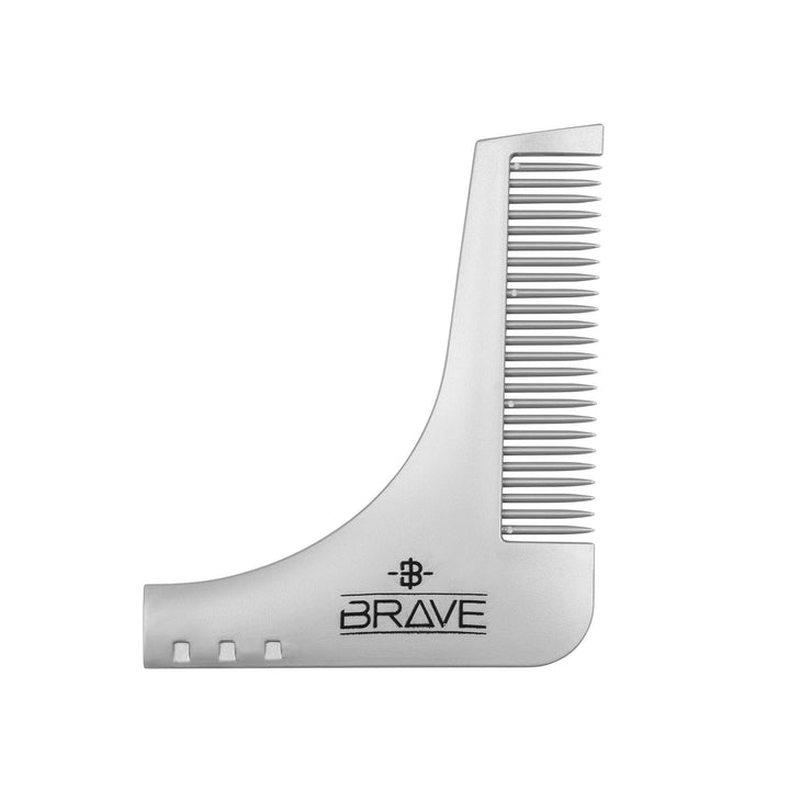 Beard Shaping Comb by Brave & Bearded