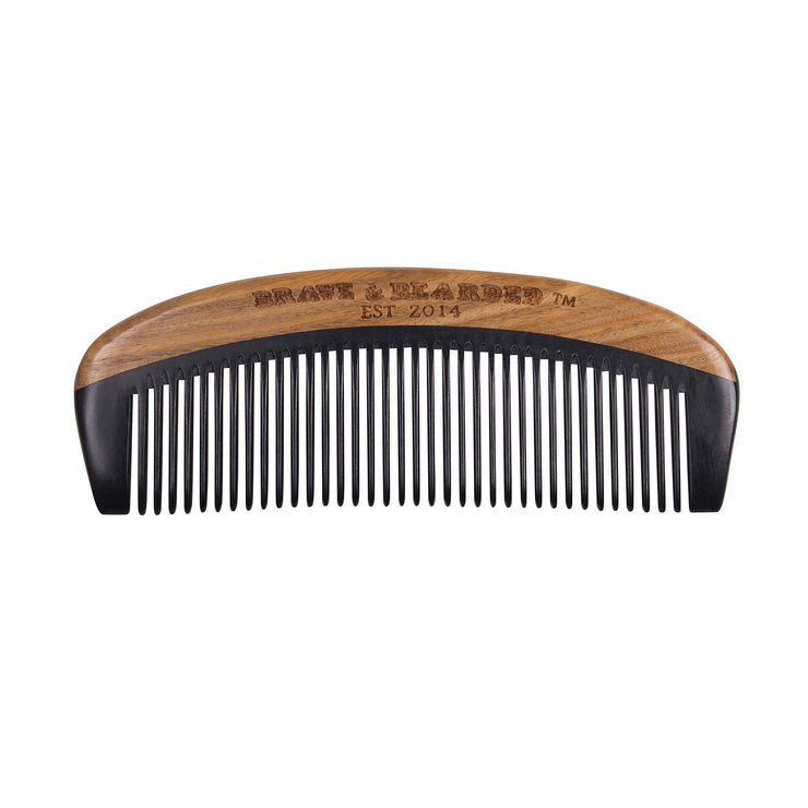 Bakelite comb made of sandalwood and bakelite, bakelite comb, sandalwood comb, beard comb, comb, wood comb, hair comb, small comb, big comb, pocket comb
