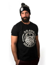 bravenbearded tshirt, bravenbearded apparel, beard t shirt, beard shirt, beard apparel, beard wear