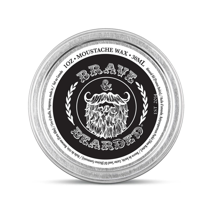 Brave Soul Moustache Wax by Brave & Bearded