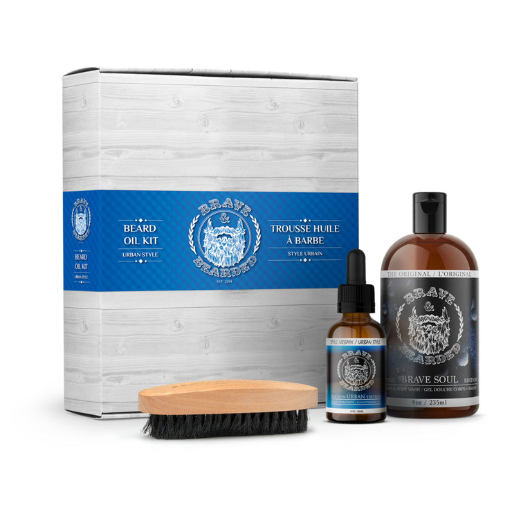 Urban Edition Beard Oil Kit