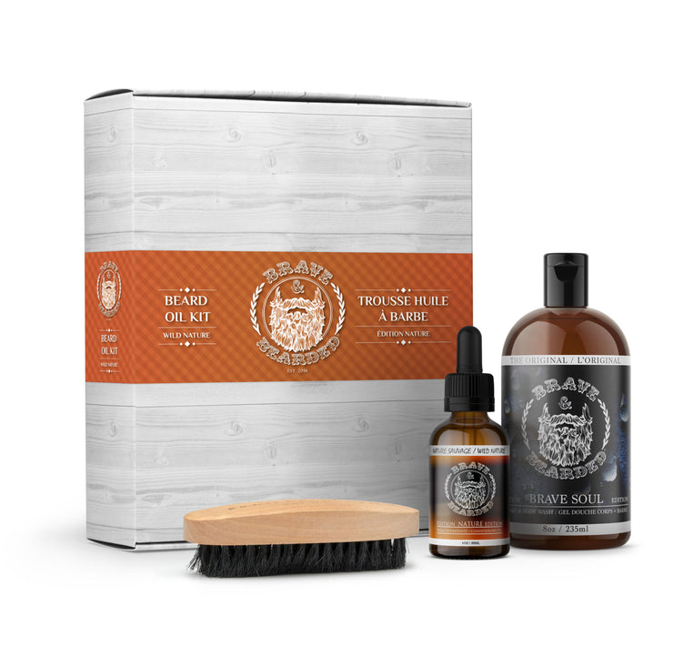 Wild Nature Edition Beard Oil Kit